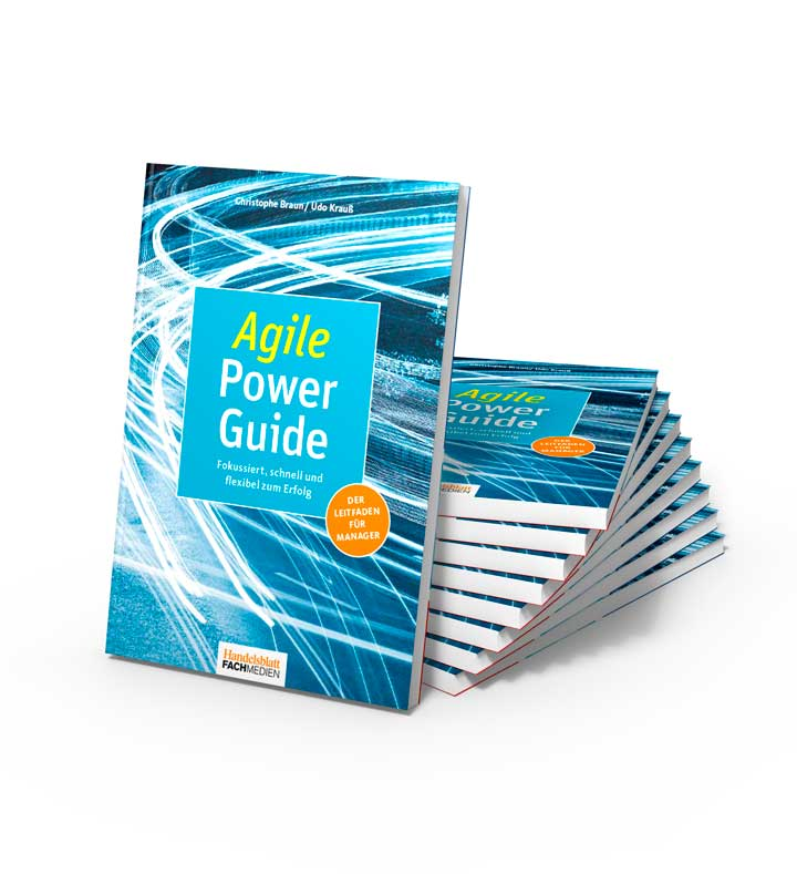VOIGT.GRAFIK Buchprojekt Agile Power Guide